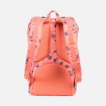 Herschel Supply Co. Little America Backpack Ruby Burnt/Coral Rubber photo- 3