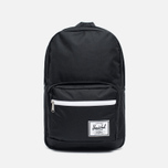 Рюкзак Herschel Supply Co. Pop Quiz 22L Synthetic Leather Black/Black фото- 0