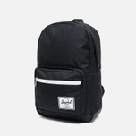 Рюкзак Herschel Supply Co. Pop Quiz 22L Synthetic Leather Black/Black фото- 1
