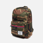 Рюкзак Herschel Supply Co. Pop Quiz 22L Woodland Camo/Multi Zip фото- 1