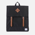 Herschel Supply Co. Survey Backpack Black/Tan PU photo- 0