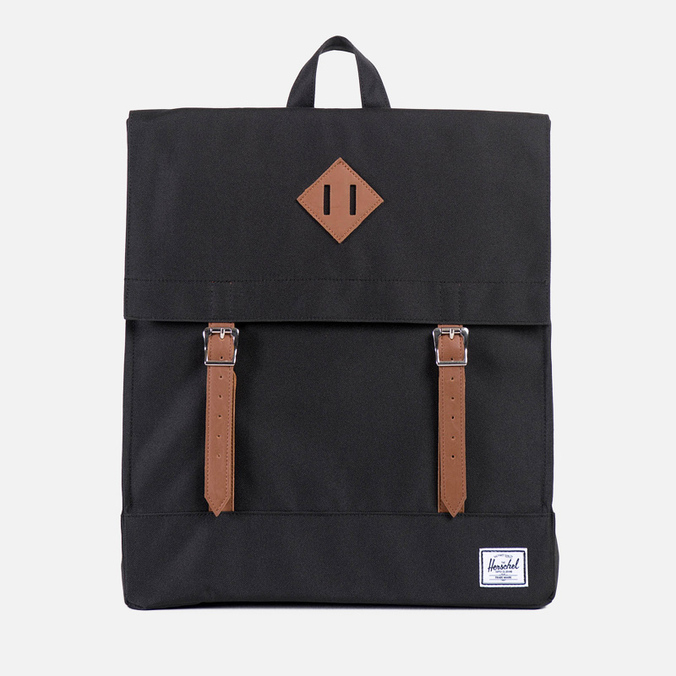 Herschel Supply Co. Survey Backpack Black/Tan PU