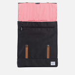 Herschel Supply Co. Survey Backpack Black/Tan PU photo- 3