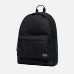 Рюкзак Lacoste Neocroc Canvas Black фото- 1