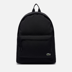 Рюкзак Lacoste Neocroc Canvas Zip Pocket Black