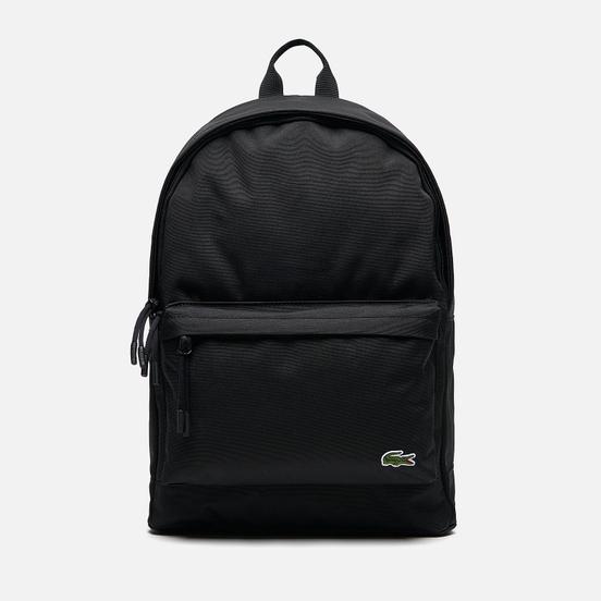 Рюкзак Lacoste Neocroc Canvas Zip Pocket Black