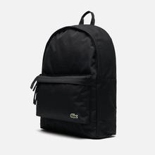 Рюкзак Lacoste Neocroc Canvas Zip Pocket Black фото- 1