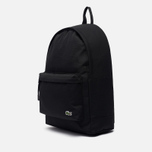 Рюкзак Lacoste Neocroc Canvas Zip Pocket Black фото- 2
