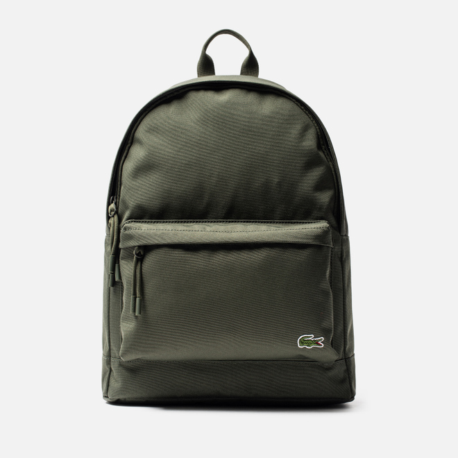 Рюкзак Lacoste Neocroc Canvas Zip Pocket Forest Night