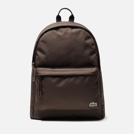 Рюкзак Lacoste Neocroc Canvas Zip Pocket Mulch