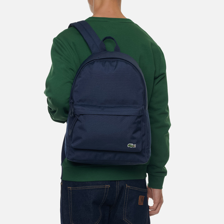 Рюкзак Lacoste Neocroc Canvas Zip Pocket Peacoat