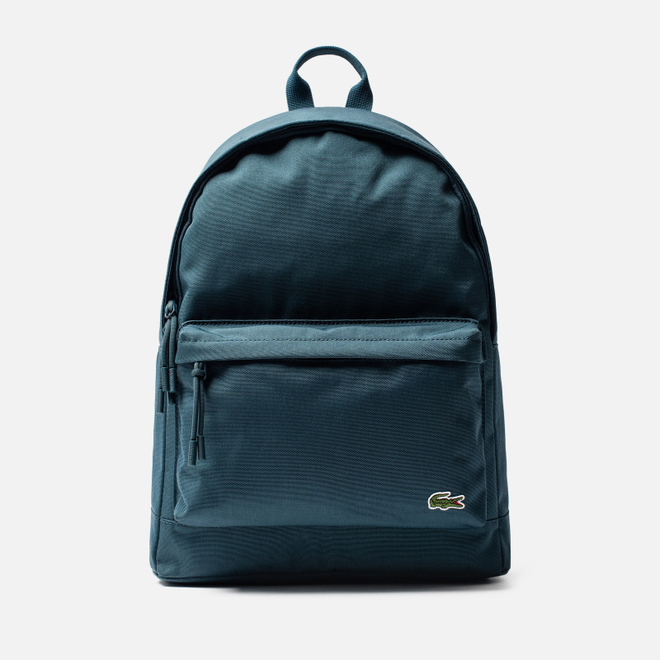Рюкзак Lacoste Neocroc Canvas Zip Pocket Reflecting Pond