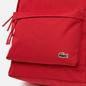 Рюкзак Lacoste Neocroc Canvas Zip Pocket Tango Red фото - 4