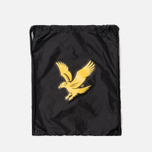 Рюкзак Lyle & Scott Core Gym Sack True Black фото- 0