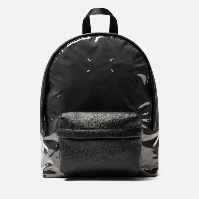 Рюкзак Maison Margiela 11 Classic Leather/Vinyl Black/Black