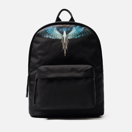 Рюкзак Marcelo Burlon Turquoise Wings Black/Multicolor