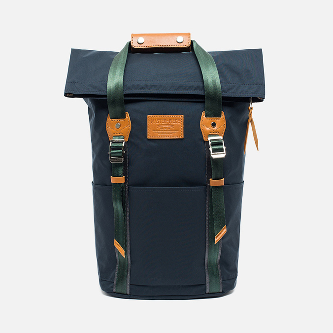 Master-piece Milly Roll Top 17L Backpack Navy