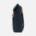 Master-piece Milly Roll Top 17L Backpack Navy photo- 2