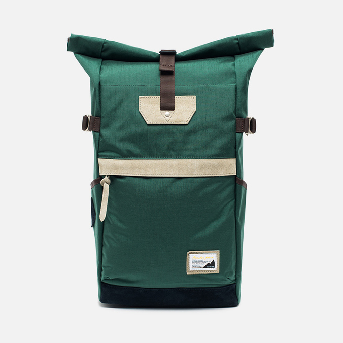 Master-piece Over ver.6 Roll Top 17L Backpack Green