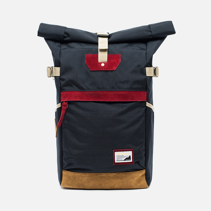 Master-piece Over ver.6 Roll Top 17L Backpack Navy