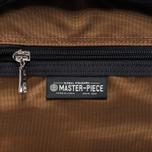 Рюкзак Master-piece Spec Leather 18L Navy фото- 8