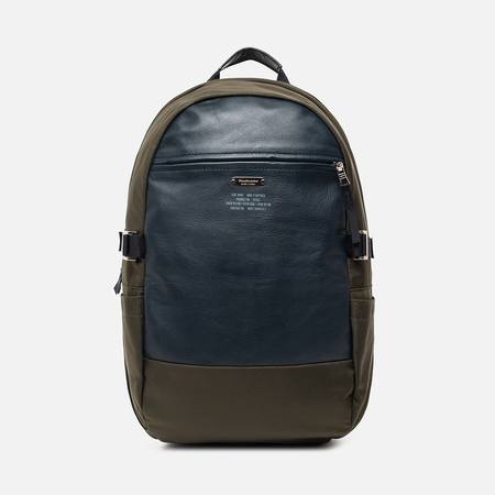 Рюкзак Master-piece Spec Leather 18L Khaki