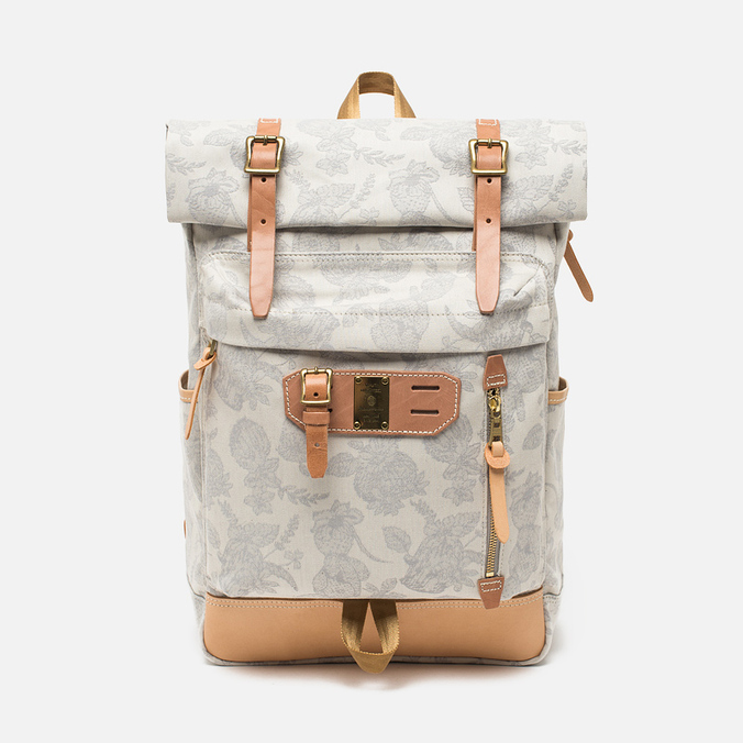 Master-Piece x Nowartt Leahter Serries 10 Backpack White