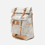 Master-Piece x Nowartt Leahter Serries 10 Backpack White photo- 1