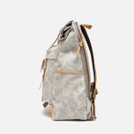Master-Piece x Nowartt Leahter Serries 10 Backpack White photo- 2