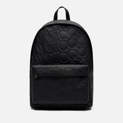 Рюкзак McQ Alexander McQueen Classic Leather Logo Embossed Black