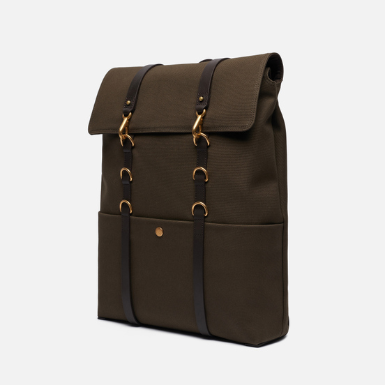 Рюкзак Mismo M/S Backpack Army/Dark Brown