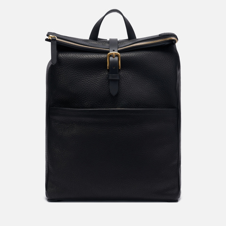 Рюкзак Mismo Express Leather Black/Black
