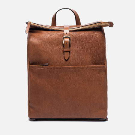 Рюкзак Mismo Express Leather Tabac/Cuoio