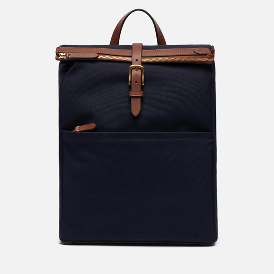 Рюкзак Mismo M/S Express Midnight Blue/Cuoio