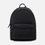 Mt. Rainier Design Simple Backpack Black photo- 0