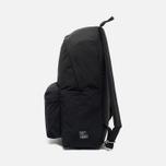 Mt. Rainier Design Simple Backpack Black photo- 2