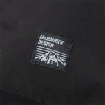 Mt. Rainier Design Simple Backpack Black photo- 4