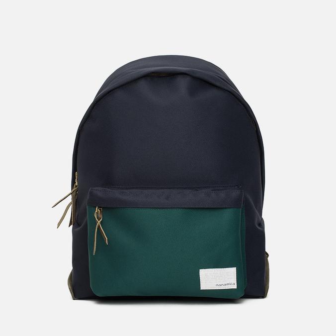 Nanamica Cordura Day Pack Backpack Navy/Green Twill