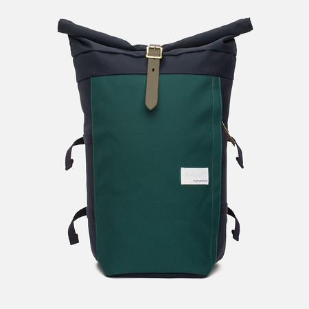 Nanamica Cycling Backpack Navy/Green