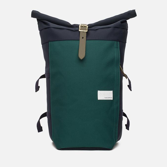 Nanamica Cycling Backpack Navy/Green