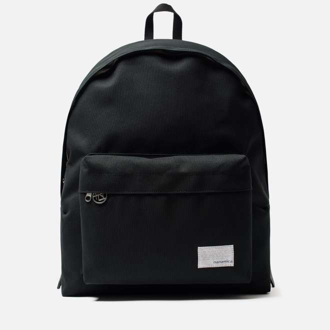 Рюкзак Nanamica Day Pack Polyester Canvas Black