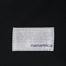 Рюкзак Nanamica Day Pack Polyester Canvas Black фото- 4