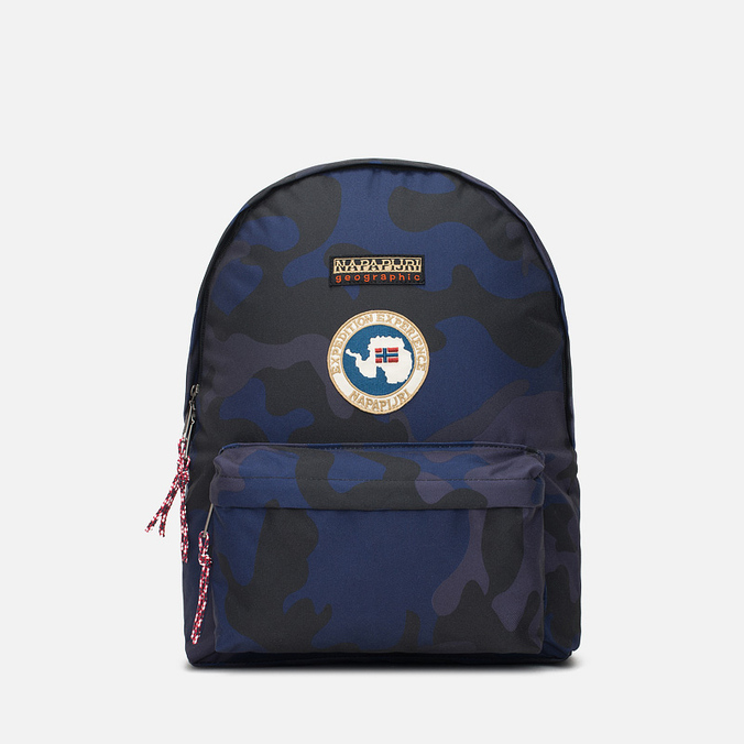 Napapijri рюкзак voyage fancy blue camo рюкзак переноска globex кенга