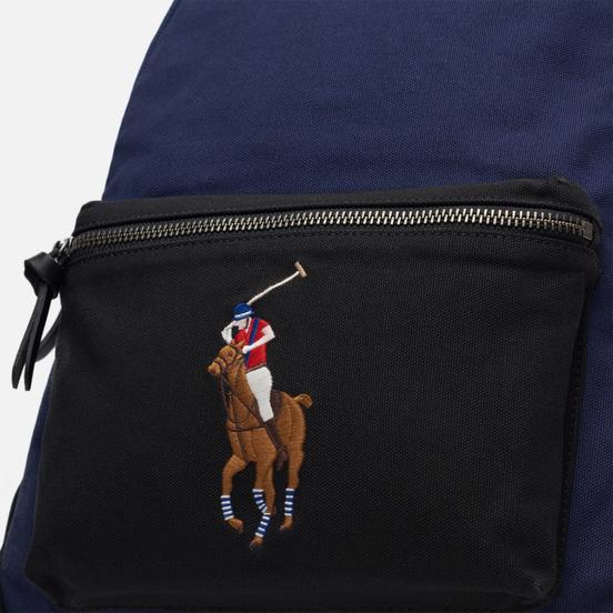 Рюкзак Polo Ralph Lauren Canvas Big Pony Navy/Black