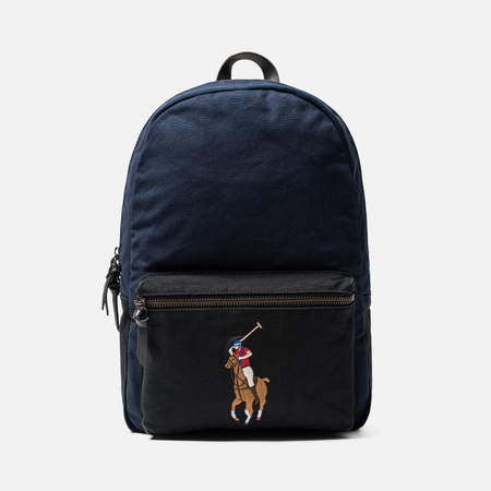 Рюкзак Polo Ralph Lauren Canvas Big Pony Navy/Black