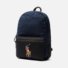 Рюкзак Polo Ralph Lauren Canvas Big Pony Navy/Black фото- 1