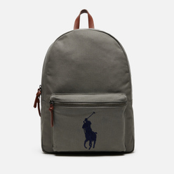 Рюкзак Polo Ralph Lauren Cotton Canvas Polo Pony College Grey