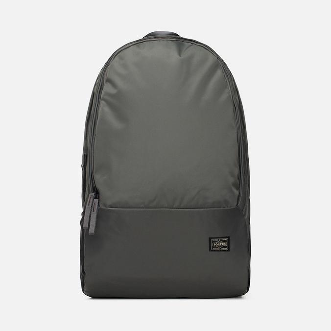 Porter-Yoshida & Co Drive Backpack Silver Grey