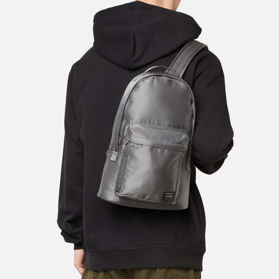 Рюкзак Porter-Yoshida & Co Tanker Daypack 7L The 35th Anniversary Silver Grey