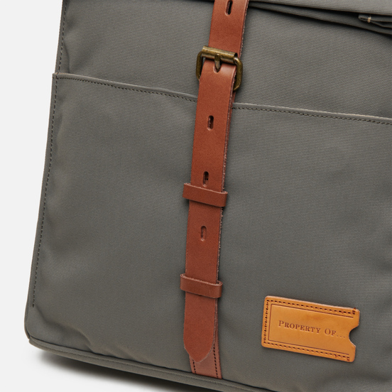 Рюкзак Property Of... Alex 24h Moss Grey/Brown